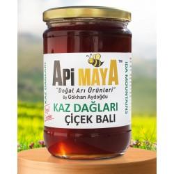 Kaz Dağları Özel Üretim Ham Çiçek Balı 850 gr